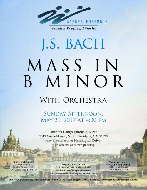 Wagner Ensemble 2017SpringConcertFlyer
