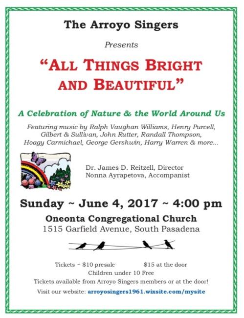 Arroyo Concert 6-4-17