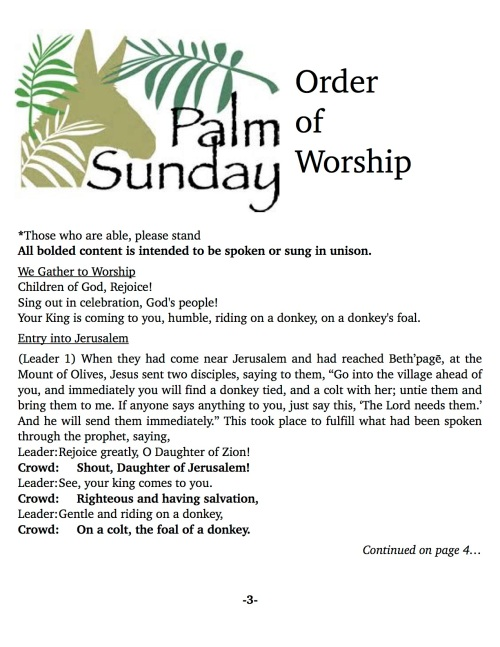 OOW:Messenger 3-25-18 Palm Sunday pg2