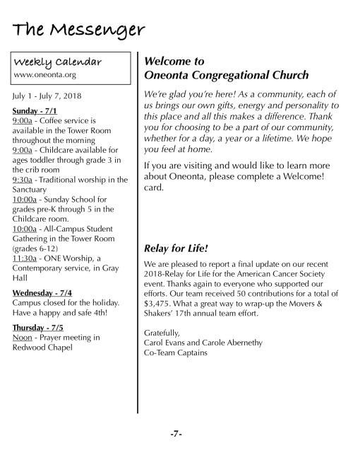 OOW:Messenger 7-1-18 p7