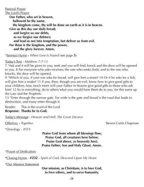 OOW:Messenger 7-15-18 p3
