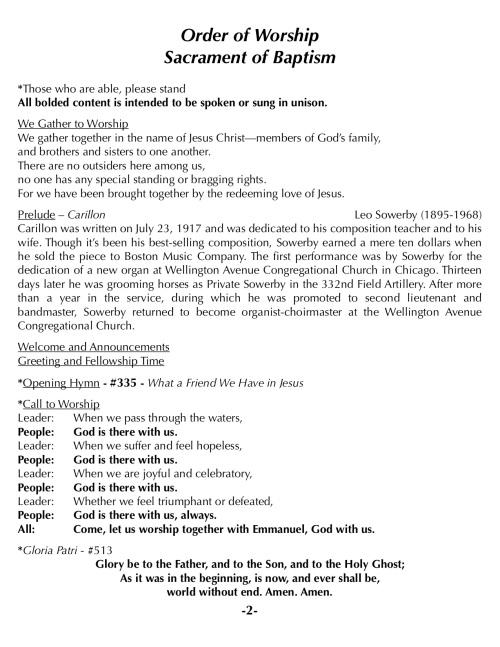 OOW:Messenger 7-22-18 p2