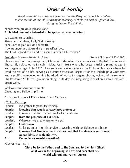 OOW:Messenger 7-29-18 p2