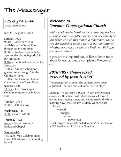 OOW:Messenger 7-29-18 p5