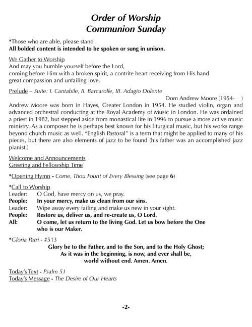 OOW:Messenger 8-5-18 p2