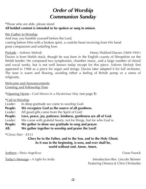 OOW:Messenger 9-2-18 p2