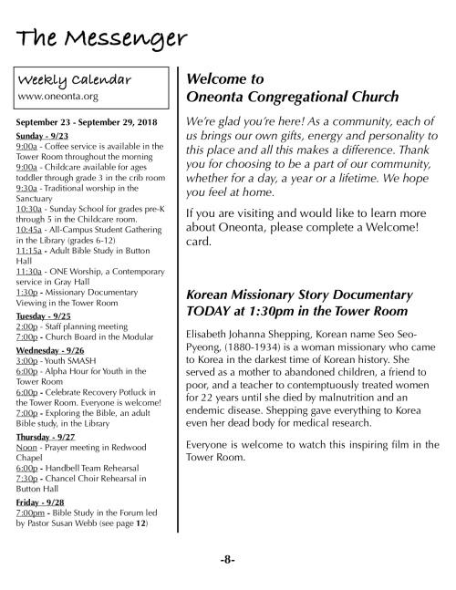OOW:Messenger 9-23-18 p8